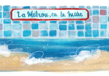 Poveste pentru copii: La metrou, ca la mare