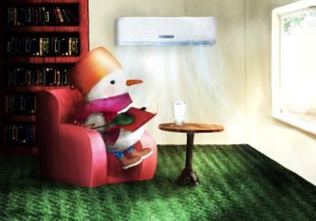 Poveste de seară: Zău că mă topesc după citit!