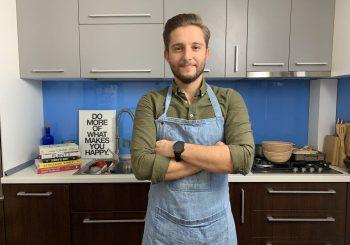 Liviu Tudoran, un #SundayChef care muncește și gătește toată săptămâna.